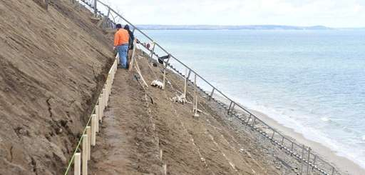 State officials said a staircase built on the