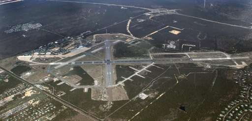 An aerial view of the Gabreski Air National