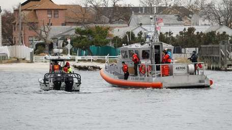 The U.S. Coast Guard searches for a humpback