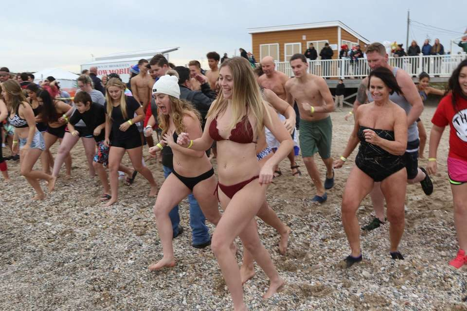 Polar plungers were all revved up for the