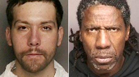 Jonathan Vacanti, 25, left, and Wesley C. Jones,