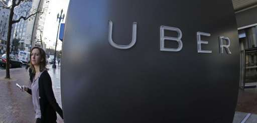 The company logo of the internet car service,