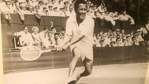 An undated photo of Pancho Segura, who won