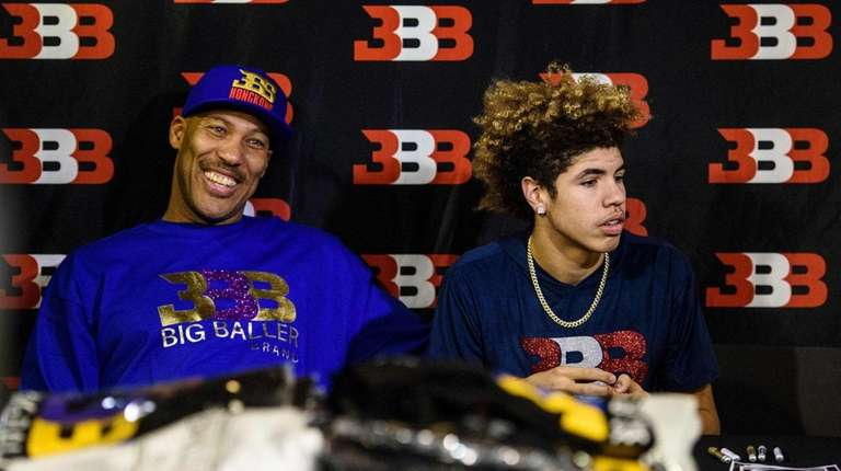 LaVar Ball, father of UCLA basketball player LiAngelo