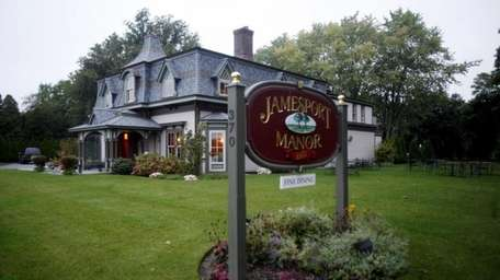 The Jamesport Manor Inn is tucked away on
