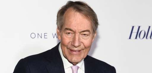Charlie Rose attends The Hollywood Reporter's 35 Most