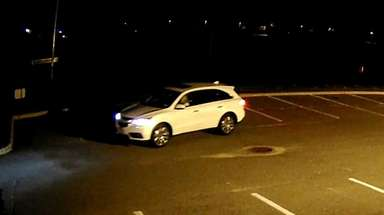 Nassau police said a white Acura MDX was