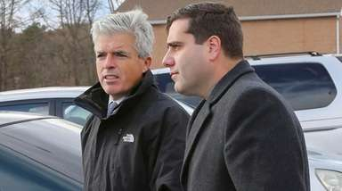 Suffolk County Executive Steve Bellone is looking for