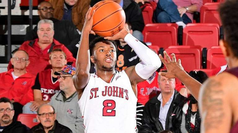 Shamorie Ponds of St. John's attempts a jump