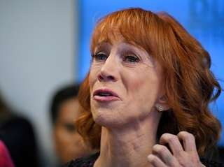 Kathy Griffin says she is