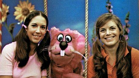 Paula Janis, left, and Carole Demas with Sherlock
