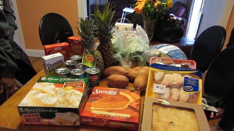 Desiree Garcia of Mastic received a Thanksgiving sponsorship