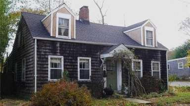 This Sag Harbor house was believed to be