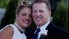 Theresa Maniaci-Canni, left, and George Canni on their