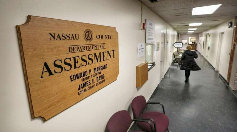 The Nassau County Department of Assessment in Mineola