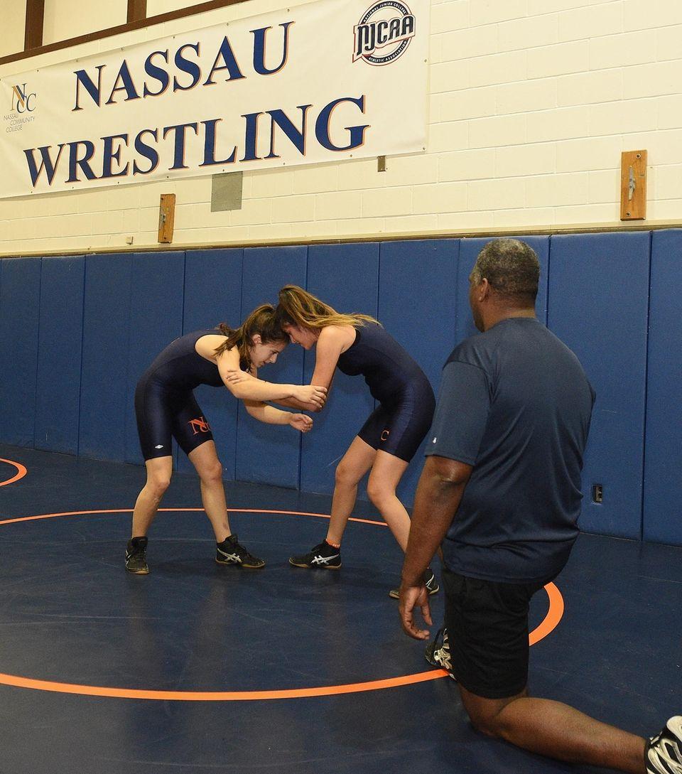 Nassau Community College Women's Wrestling head coach Sam