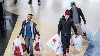 Shoppers hunt for bargains on Black Friday, Nov.