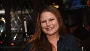 Jill Schombs, a bartender at The Penny Pub