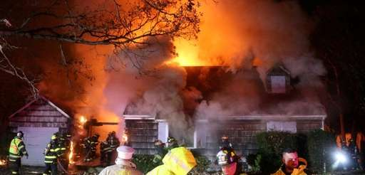Firefighters battle vacant house fire Wednesday, Nov. 22,