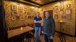 Brothers Nick and John De Vito, owners of