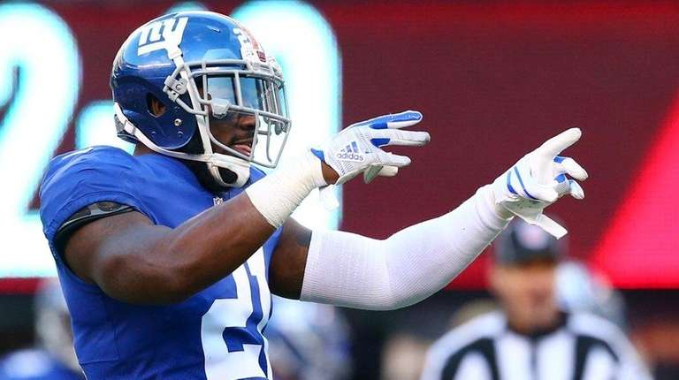 Landon Collins cries after getting injury news