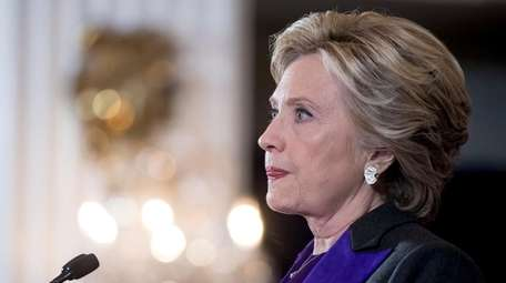 Hillary Clinton gives her concession speech on Nov.