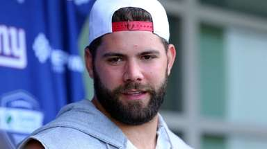 The Giants' Justin Pugh will host a post-Thanksgiving