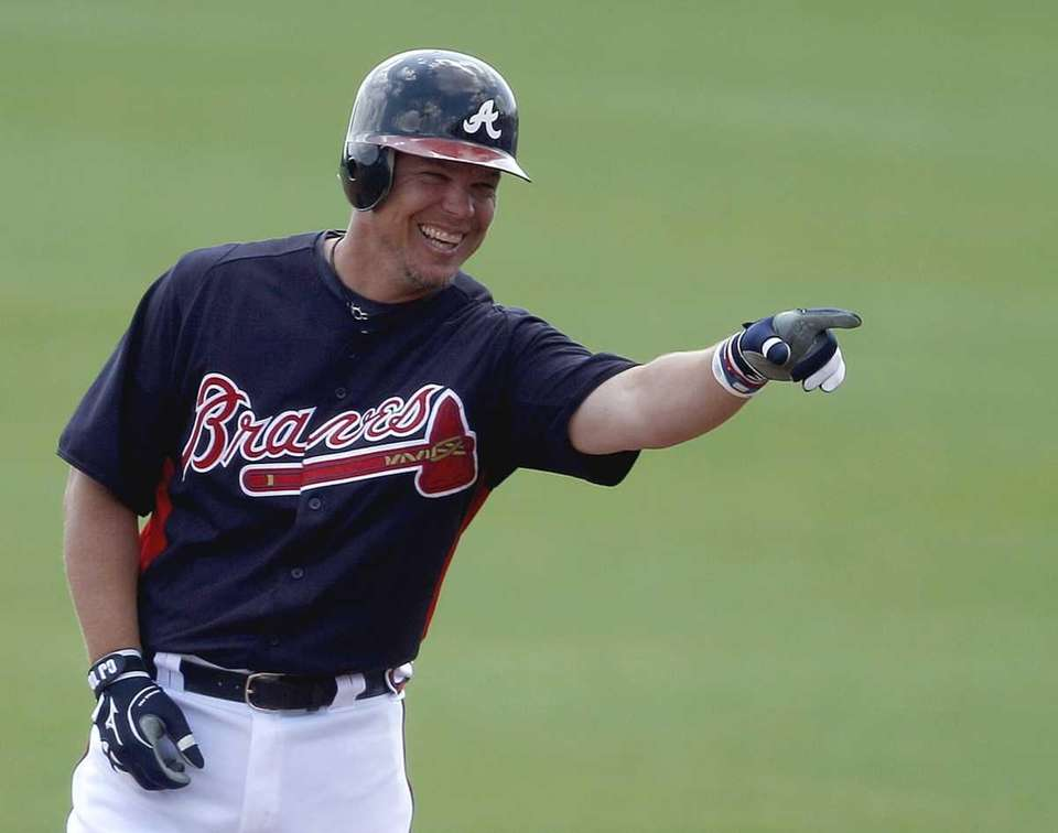 Chipper Jones made his debut in 1993, playing