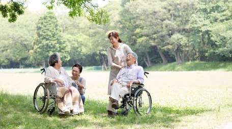 Long-term care insurance can cover the expense of