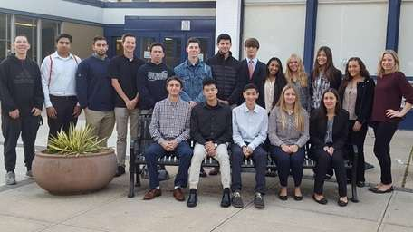 Plainview-Old Bethpage School's Elluminate firm took first place