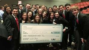 Patchogue-Medford High School's EvoTech firm took first place