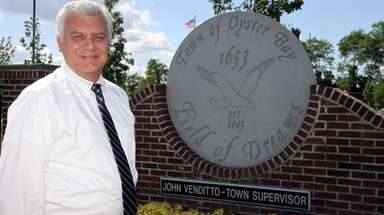 Town of Oyster Bay Supervisor John Venditto is