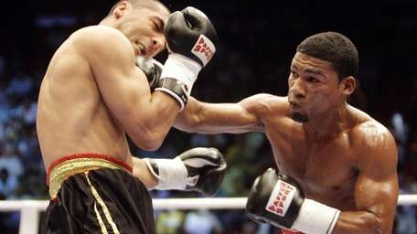 Cuban Yuriorkis Gamboa in action. He is the