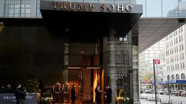Trump SoHo in Manhattan on Wednesday, Nov. 22,