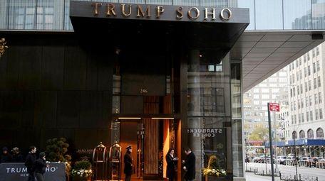 Trump SoHo in Manhattan on Wednesday, Nov. 22,