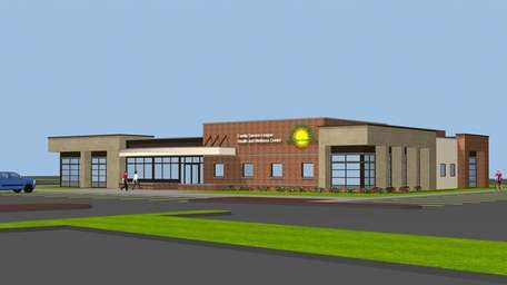 Rendering of the Family Service League's planned health