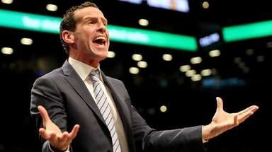 Nets coach Kenny Atkinson said