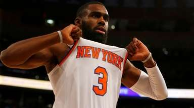 Tim Hardaway Jr.  plays to the Garden