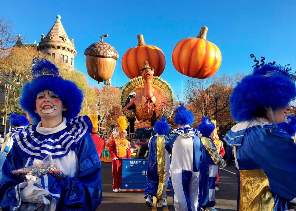 The Macy's Thanksgiving Day Parade saw new balloons