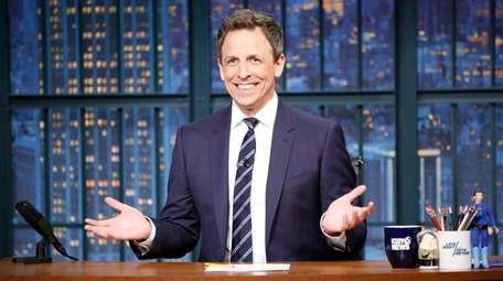 Seth Meyers at his