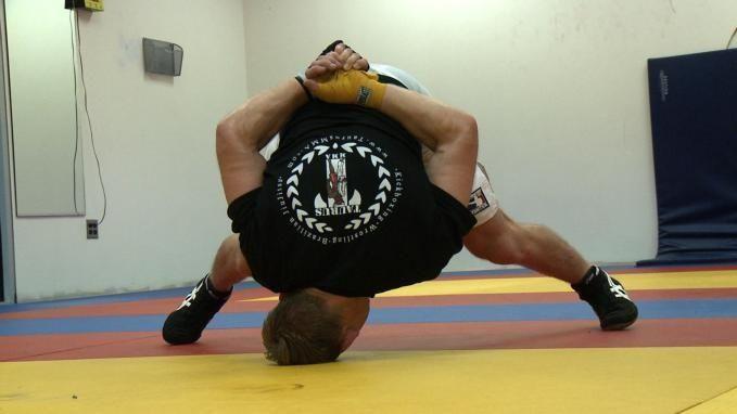 WEC featherweight Deividas Taurosevicius trains at Xtreme Fitness