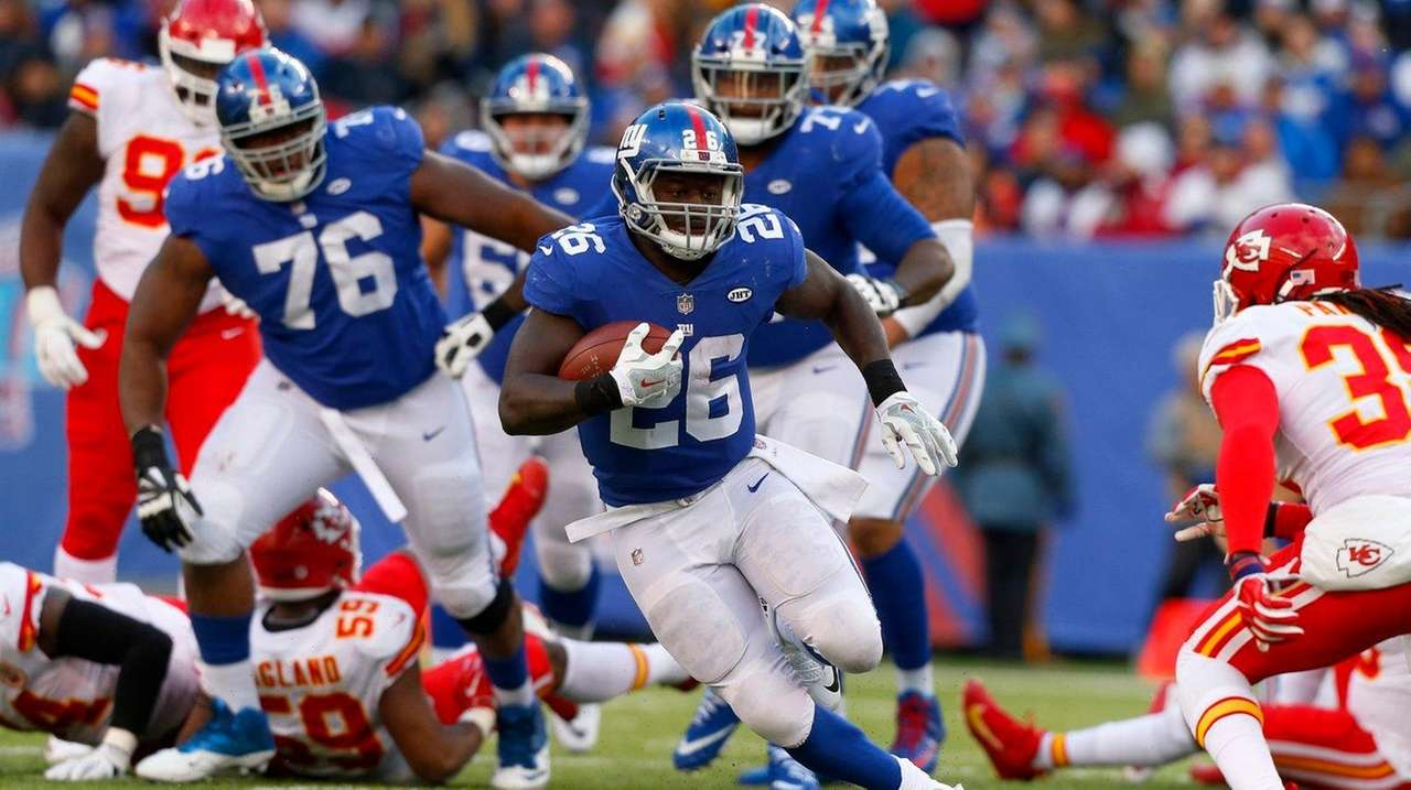 Orleans Darkwa making most of opportunity with Giants   Newsday