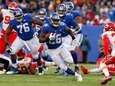 Orleans Darkwa #26 of the New York Giants