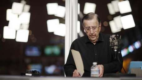 In this Nov. 16, 2017, photo, Brent Musburger