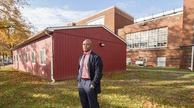 Bilal Polson, principal of Northern Parkway Elementary School,