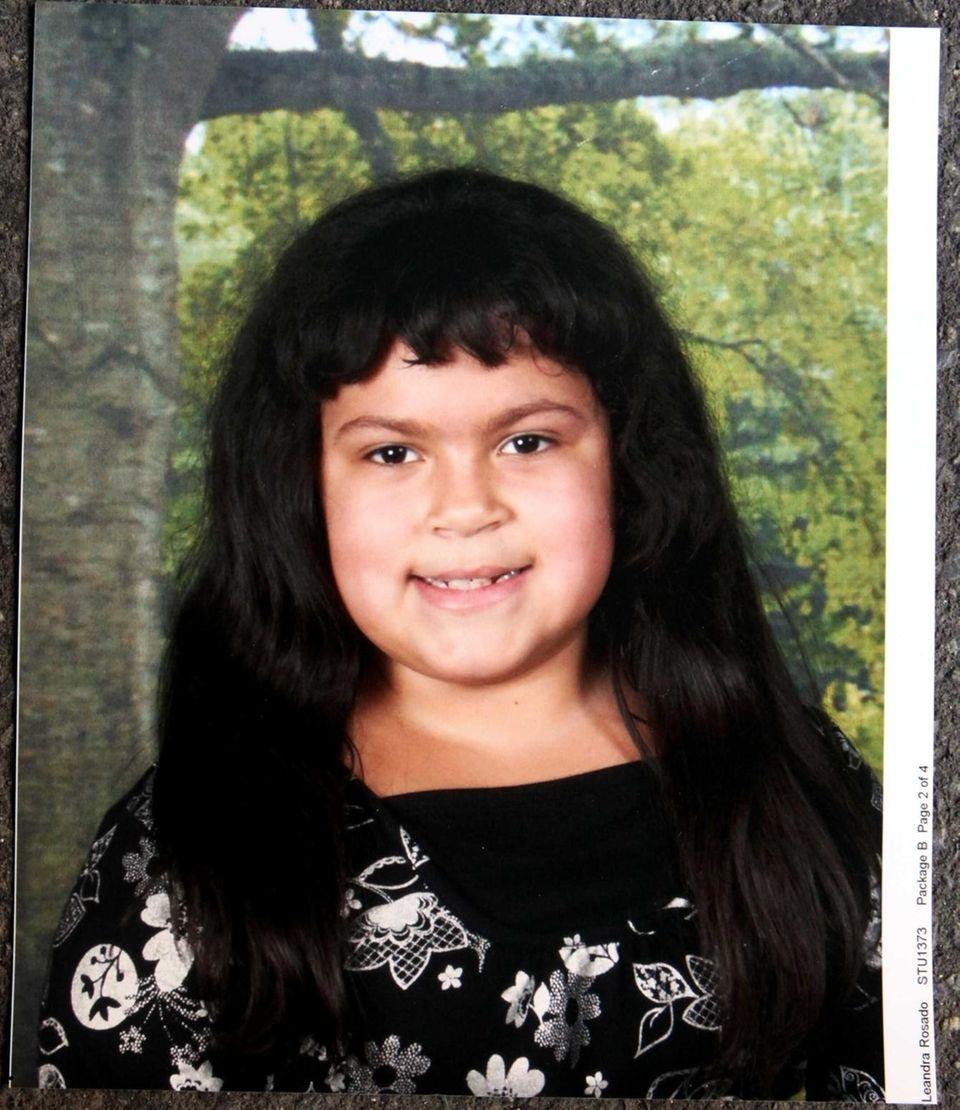 Leandra Rosado, 11, was killed Sunday when the