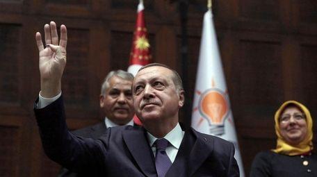 Eyes are on Turkey's President Recep Tayyip Erdogan,