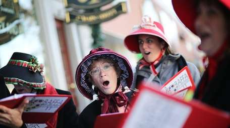 Carolers from the Bay Area Friends of the