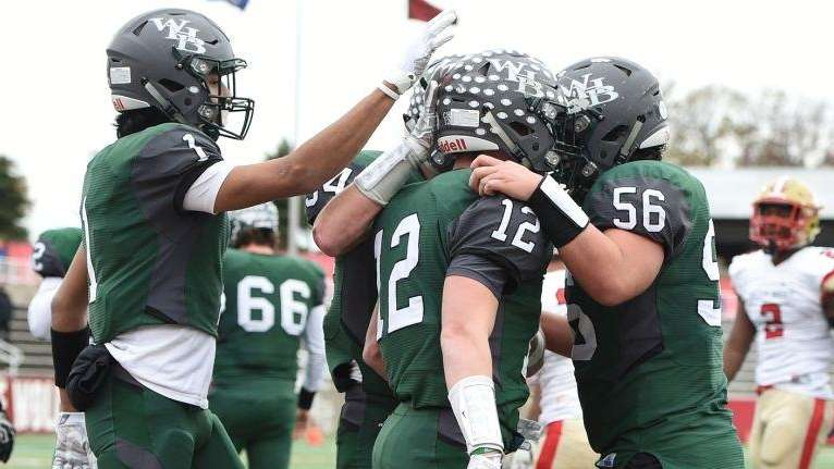 Westhampton football defeated Lawrence, 54-26, to win its