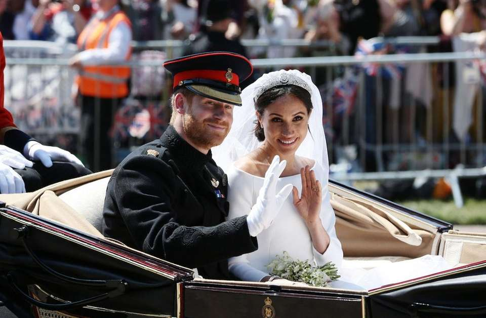 Prince Harry, Duke of Sussex married former American